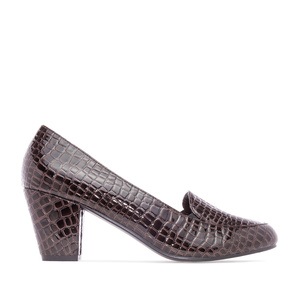 Salones Slipper Coco Marron
