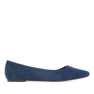 Baletanke špicastog oblika, zmijska šara plave