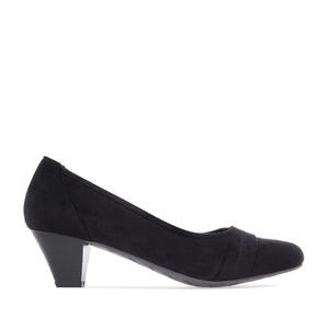 Zapatos en Ante Negro