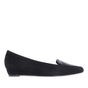 Slipper Nubuck Noir