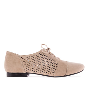 Blucher ante de color Beige