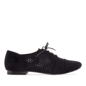 Blucher ante de color Negro