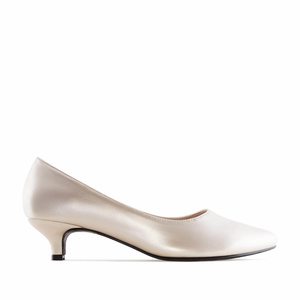 Eleganter Damenschuh in Soft-Gold mit