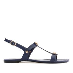 Tummansiniset sandaalit