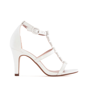 Sandalias T-Bar en Soft de color Blanco.