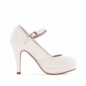 Escarpins Mary Jane en Soft Beige