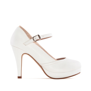 Escarpins Mary Jane en Soft Blanc