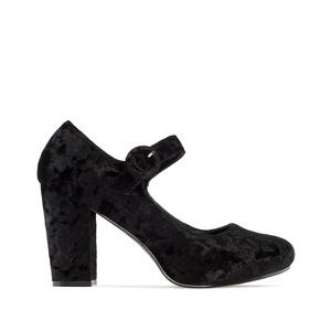 Zapato en terciopelo Negro