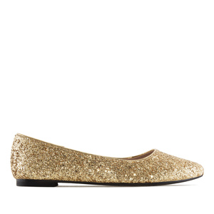 Bailarina Glitter Oro