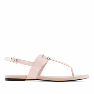 Sandales T-Bar en soft Rose