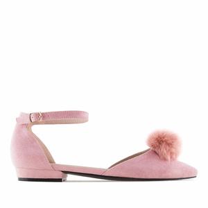 Vaaleanpunaiset Ballerinat.