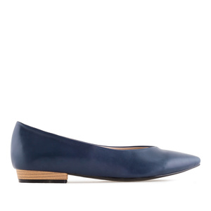 Schlichte Loafer in Soft-Marineblau