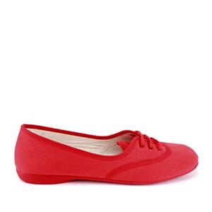 Baletanke na pertlanje, crvene