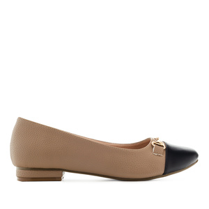 Loafer in Soft Braun mit Applikation