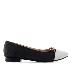 Loafer in Soft Schwarz mit Applikation