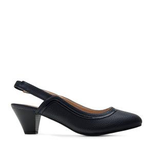 Loafer mit extra breitem Fußbett in Soft Marineblau