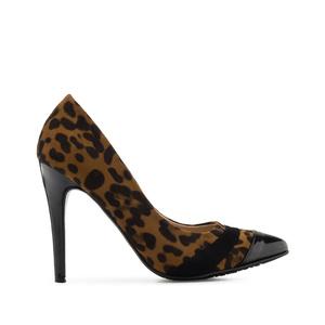Špicaste salonke sa lakovanim vrhom, leopard