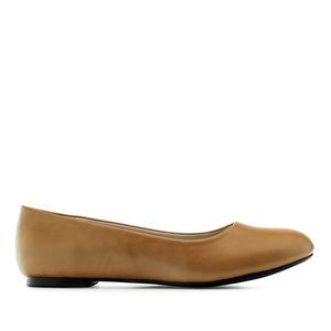 Ballerines Soft Camel