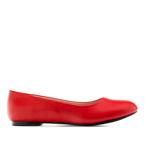 Ballerines Soft Rouge