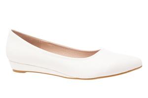 Baletanke sa blagim špicem, bele soft