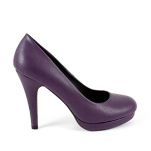 Salones Pumps en Soft Morado
