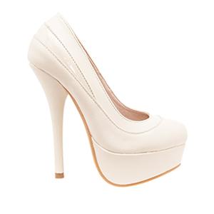 Zapatos en Soft Beige y Plataforma