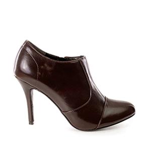 Poluduboke cipele na štiklu, tamno braon
