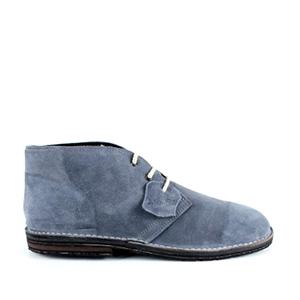 Kožne duboke cipele, sive