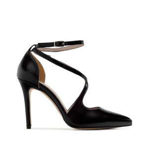 Stilettos in Black Nappa Leather