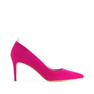 Stilettos in Fuchsia Suede Leather