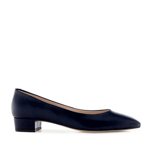 Loafer aus marineblauem Nappaleder - MADE in SPAIN -