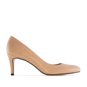 Stilettos in Nude Leather