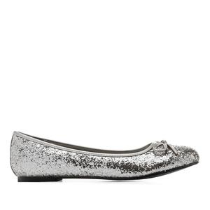 Bailarina Clasic Glitter Plata