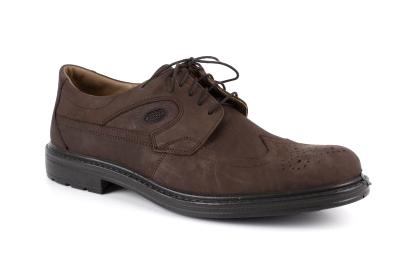 Cipele od nubuk kože, braon