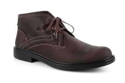 Duboke kožne cipele, braon