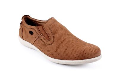 Cipele u kežual stilu, konjak boja