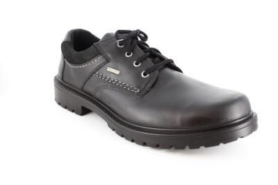 Crne kožne cipele na pertlanje