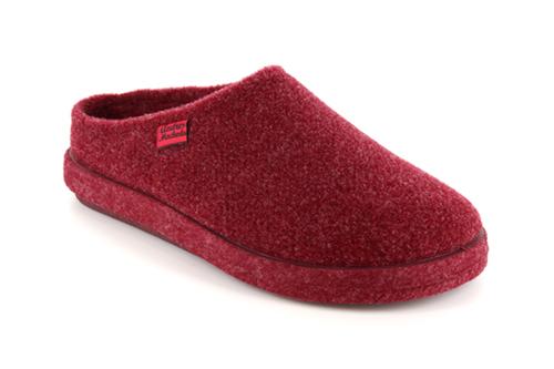 Kućne papuče, bordo