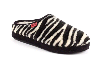 Anatomske papuče, zebra dezen
