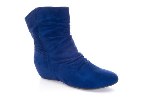Antilop čizme na platformu, plave