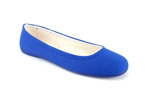 Lagane i veoma udobne baletanke sa gumenim đonom, plave