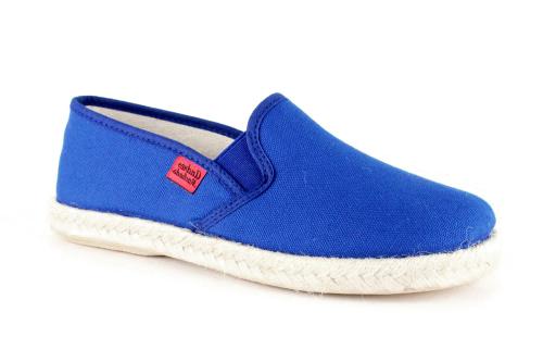 Papuče sa đonom od gume i jute, plave