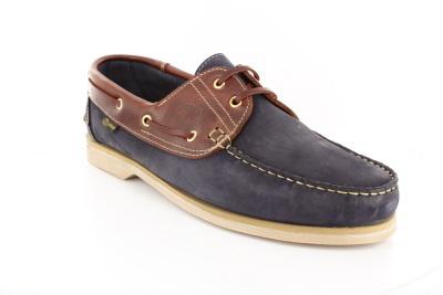 Braon Plave Skiper cipele.