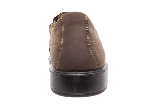 Zapatos en Cuero Marron Slip-on