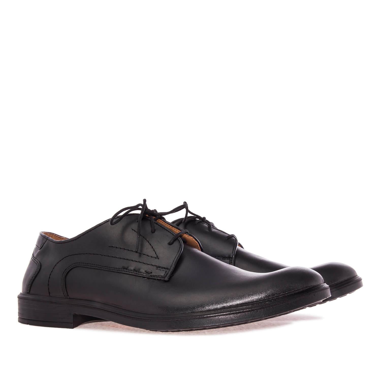 Kožne cipele, crne