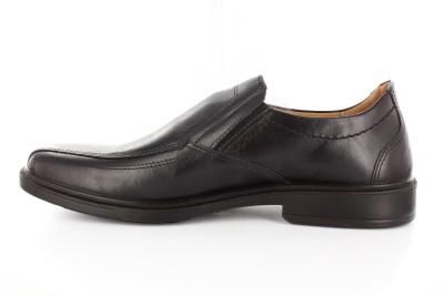 Klasične muške cipele od crne kože