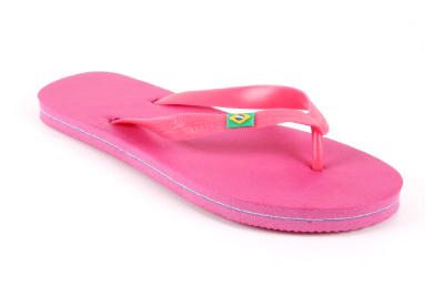 Chanclas de Playa o de Piscina en Color Fucsia.