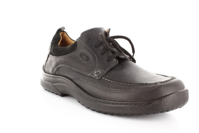 Zapatos deportivos con cordones color Negro.