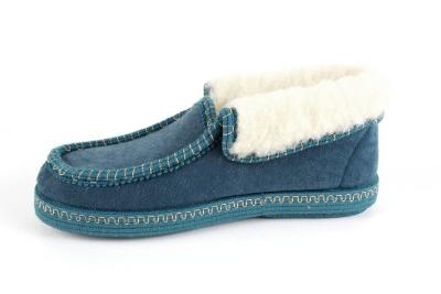 Kućne obložene cipele, zeleneBotín Antelina Verde con Borreguillo.