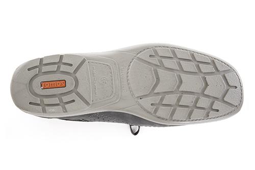 Zapatos de Piel Gris Para Hombre.